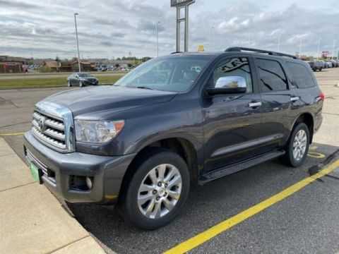 Pre-Owned 2013 Toyota Sequoia Platinum 5.7L V8 w/FFV